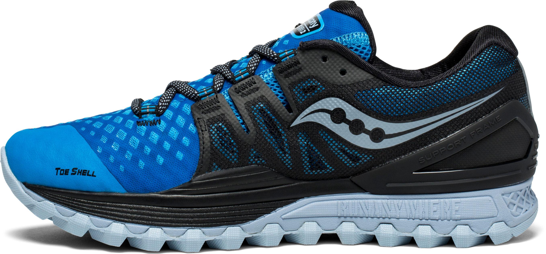 47ce393b1e6 saucony Xodus ISO 2 - Chaussures running Homme - bleu noir ...